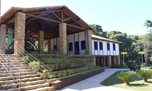Casarão do século XIX, restaurada para levar aos visitantes verdadeiro resgate histórico e cultu