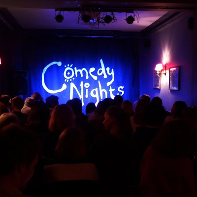 Check out our intimate comedy venue.