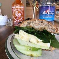 Delicious Apple Brie sandwich