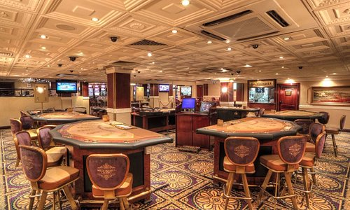Elegant casino with an ambience