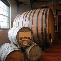 Big wine barrel