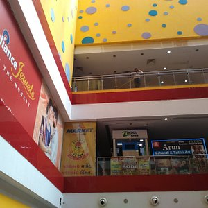 Beautiful mall of bhavnagar