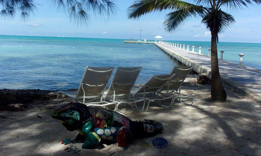 beautiful beach great drinks/ rum point