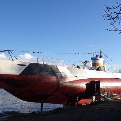 Подводная лодка Vesikko, 19 октября 2017 года...