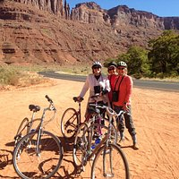 A great biking day in Moab