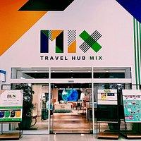 Entrance of Travel Hub MIX.