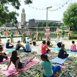 Yoga You op festivals in Zwolle