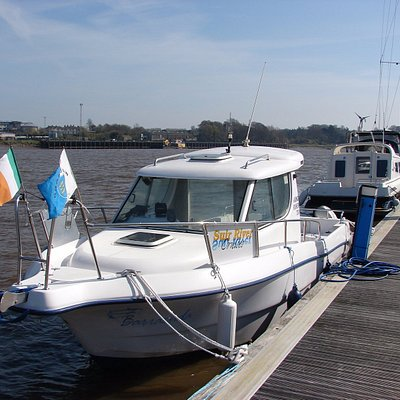 Suir River Cruise`s boat is a 24ft half decker.