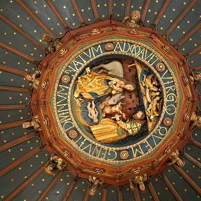 détails du plafond (2e étage)