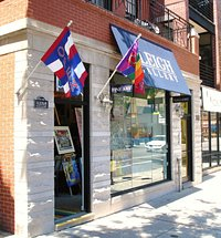 A beautiful day to visit The Leigh Gallery in Lakeview/ Boystown/ Wrigleyville!