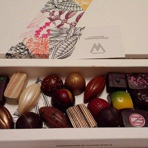 Self selected box of chocolates