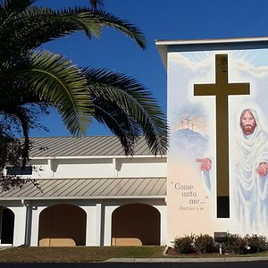 """""""Come Unto Me . . ."""" this mural is amazing!"""