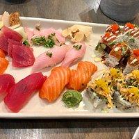 Sushi platter. So amazing!