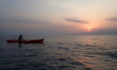 Sunset at Raissali, near Tadjoura, Djibouti