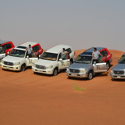 4x4 Dune bashing by professional drivers