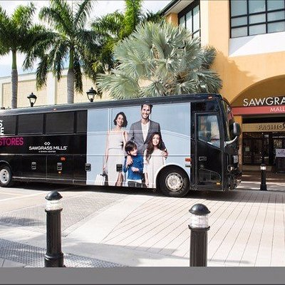 Shuttle Services to Sawgrass Mills Mall