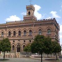 Casalmaggiore - Palazzo municipale, prospetto posteriore su Piazza Vecchia