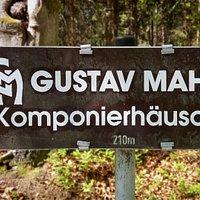 Noch 210 Meter bis zum Gustav Mahler Komponierhäuschen