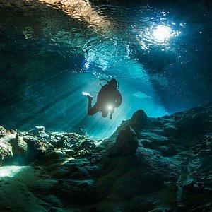 Diving Centre Zuljana cave diving 2017. Croatia scuba diving 2017.