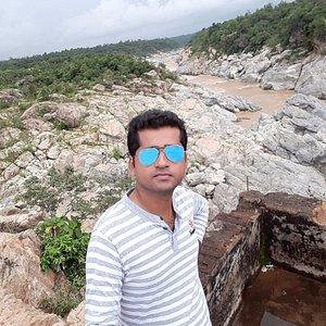 Lalatendu Sarangi at Bhimkund