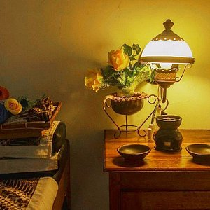 herbal essential oil & bamboe massage