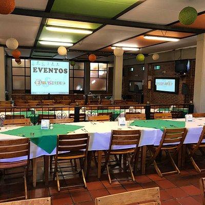 Este es uno de los salones donde se pueden hacer eventos