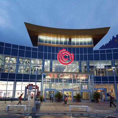 Main entrance of C3 Centre