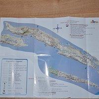 Mapa szlaków turystycznych