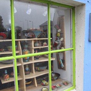 Dingle Pottery shop