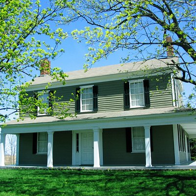 The Johnston House and Mike Weaver Drain Tile Museum