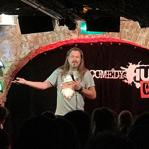 A night at the Comedyhuis Club