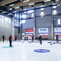 Curling arena