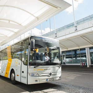 The bus for all flights.