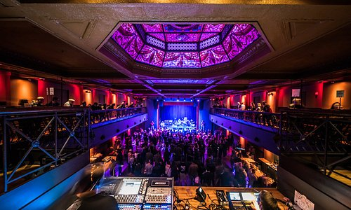 Photo from Above the Soundbooth in the Balcony