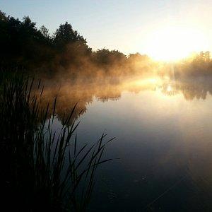 Górki Szymona o wschodzie słońca ;)