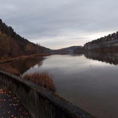 Engervannet sett fra vest.