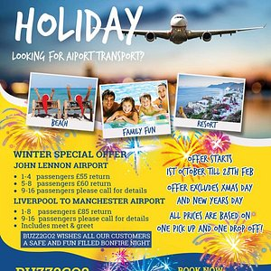 Great Offer for  Airport Transfers For Wintersun Holidays 2017-2018