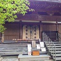 神仏習合の本堂