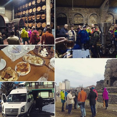Emperors wine route with guests from Russia
