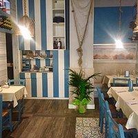 un angolo di mare al centro della città di Portici...questo è Primo restaurant!
