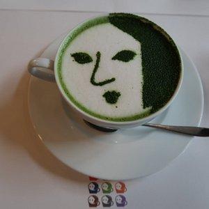 Yojiya Matcha Latte