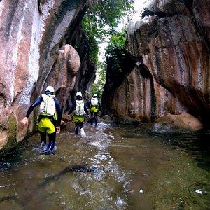 Canyoning, descenso de barrancos, Explora Mallorca