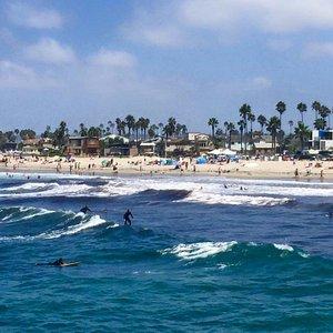 View from Ocean Beach Pier