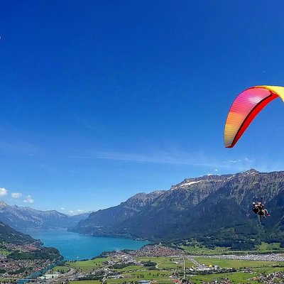 Paragliding over Interlaken with AlpinAir Paragliding
