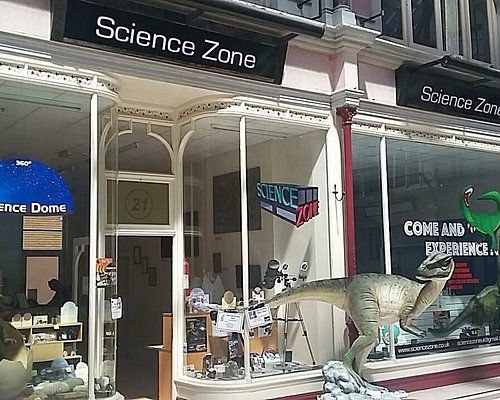 Science Zone is a activity centre with a dinosaur basement and two sensory rooms. A digital plan
