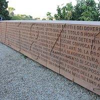 Il Muro della Costituzione Romana