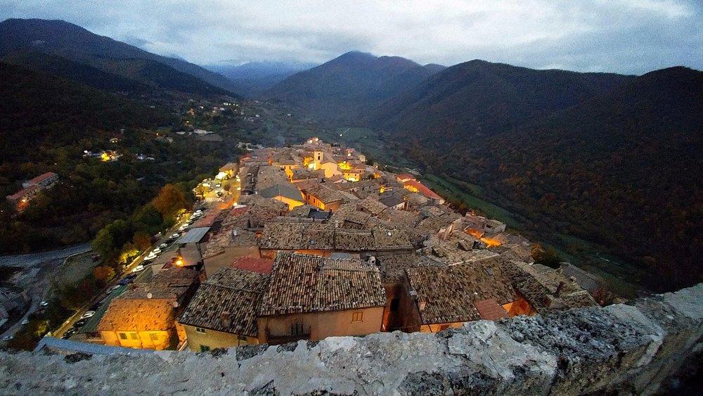 Castello Caetani...