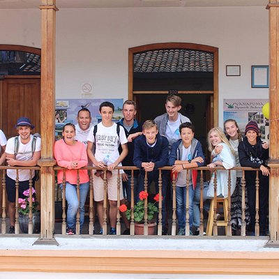 Our Spanish School students in July