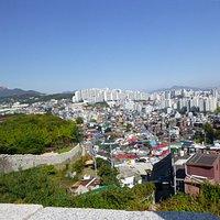 Výhled od městské zdi