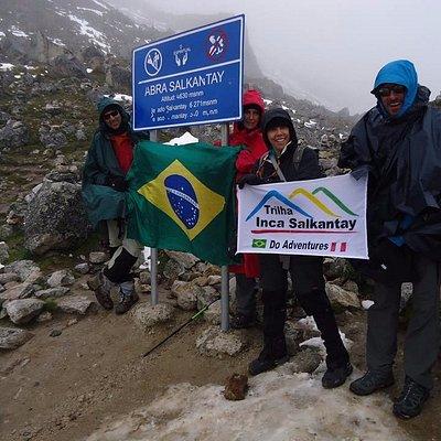 Trilha Inca Salkantay Machu Picchu - Brasil em Machu picchu